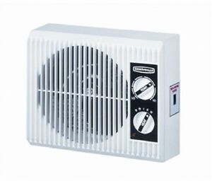 Electric Space Heater Fan Outlet Wall Mount Bathroom Bedroom Space Saver 1500w Ebay