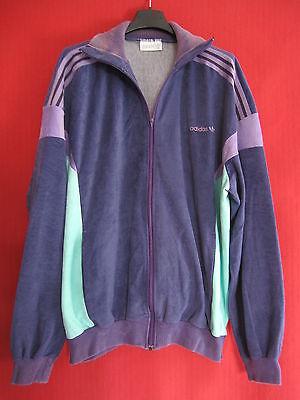 Détails sur Veste Adidas Ventex France 80'S grise et rouge Vintage Jacket Sport 186 XL