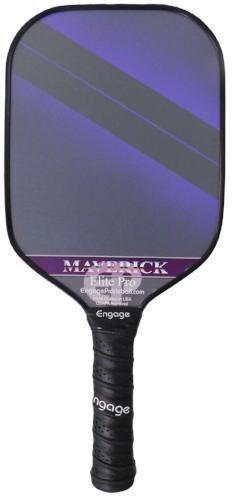 Nuevo participar Elite Pro Maverick Lite pickleball Paddle púrpura