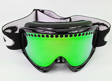 REPLACEMENT GS GREEN MIRROR DUAL VENTED SNOW SKI LENS fits OAKLEY O-FRAME GOGGLE