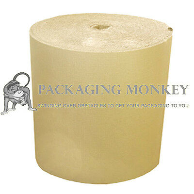 4 x 300mm x 75M Corrugated Cardboard Paper Rolls 300M