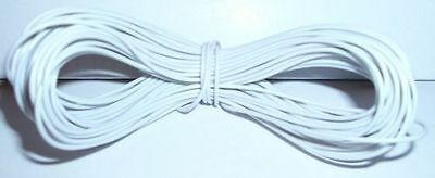 Metodico Model Railway Peco Or Hornby Point Motor Etc Wire 1x 30m Roll 7/0.2mm 1.4a White Superiore (In) Qualità