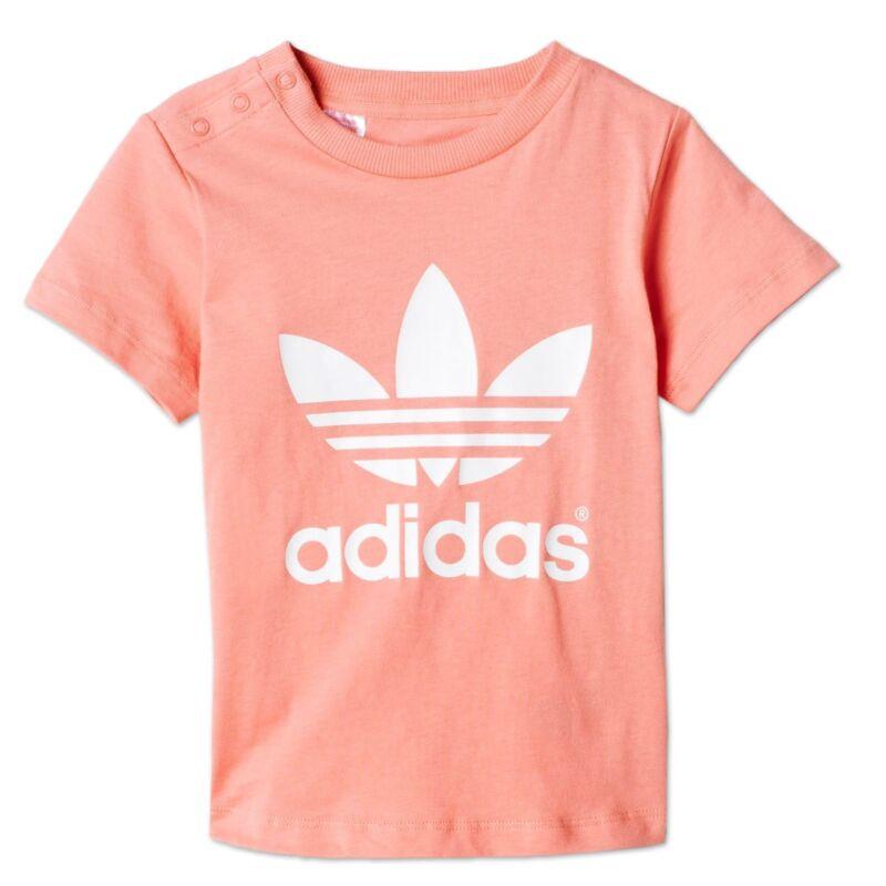 Adidas Originals Trefoil Tee Kinderturnen Leisure Gymnastic T-shirt Apricot 92