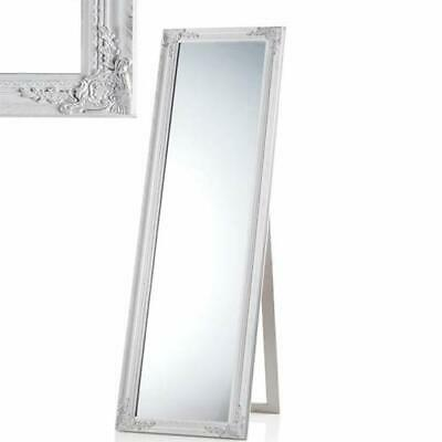 Specchiera da Terra Mirror Original Moderna 40x160 cm Bianca