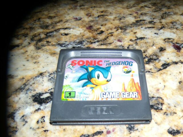 Sonic The Hedgehog Sega Game Gear For Sale Online