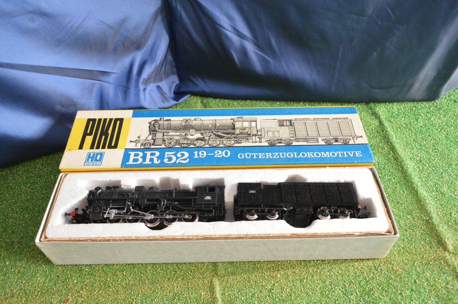 Piko Locomotive Dampf BR52 19-20 in Box Original