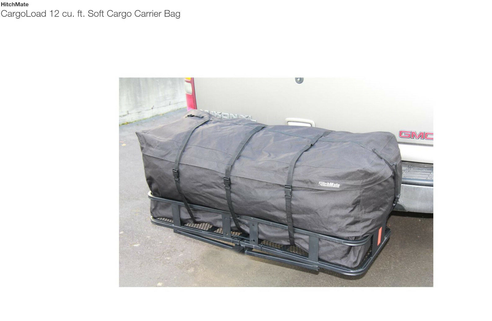 Brand New HitchMate CargoLoad 12 cu. ft. Soft Cargo Carrier Bag