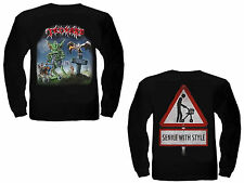 TANKARD - One Foot In The Grave - Longsleeve - Longarm Shirt - Größe Size L