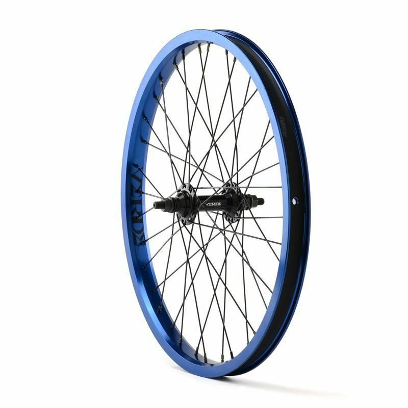 green Regent Front Wheel bluee 20