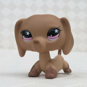 Rare Lps Toys Pet Shop Brown Dachshund Puppy Dog No Magnet Figure Gifts Ebay