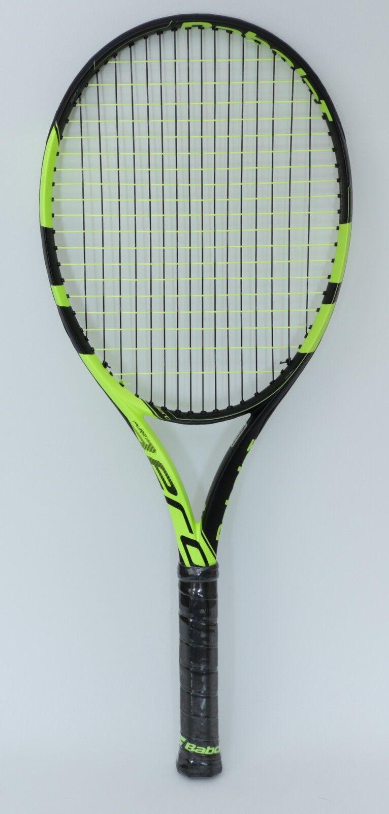 TOPAKTION  Babolat PURE AERO mit Babolat-Besaitung - Nadal Tennisschläger