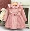 Girls-Double-Breasted-Ruffle-Trench-Coat-Long-Sleeve-Lace-Princess-Jacket-Dress thumbnail 10