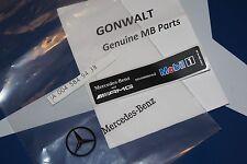 Mercedes Benz AMG Mobil1 Oil Sticker Emblem 0045849438