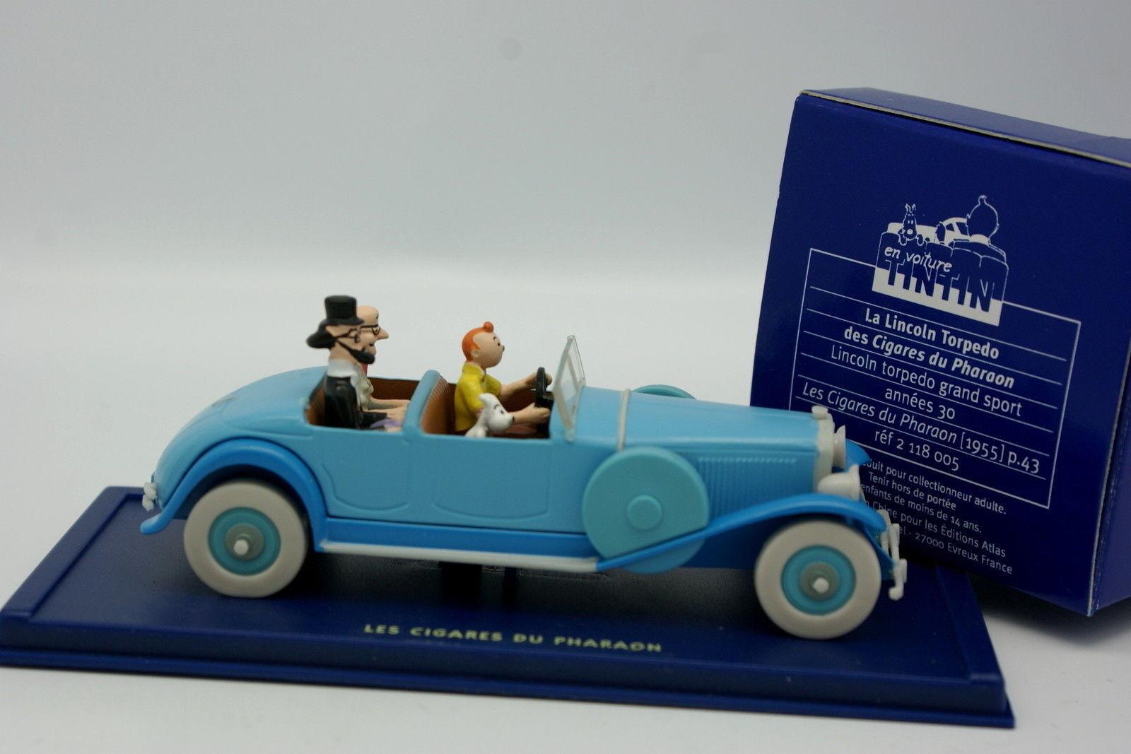 By Car Tintin 1 43 - Lincoln Torpedo - Cigars the Pharaoh