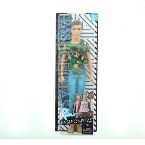 Mattel Barbie Fashionistas Fashion Friends Broad Slim Original Ken Dolls 3+
