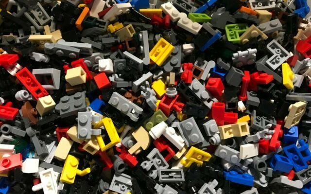 LEGO LOT OF 50 NEW BLUE 1 X 1 HEADLIGHTS MODIFIED BRICKS BLOCKS PIECES