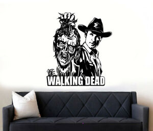The-Walking-Dead-Andrew-Lincoln-Rick-Grimes-Zombies-Wall-Art-Sticker-Decal-1