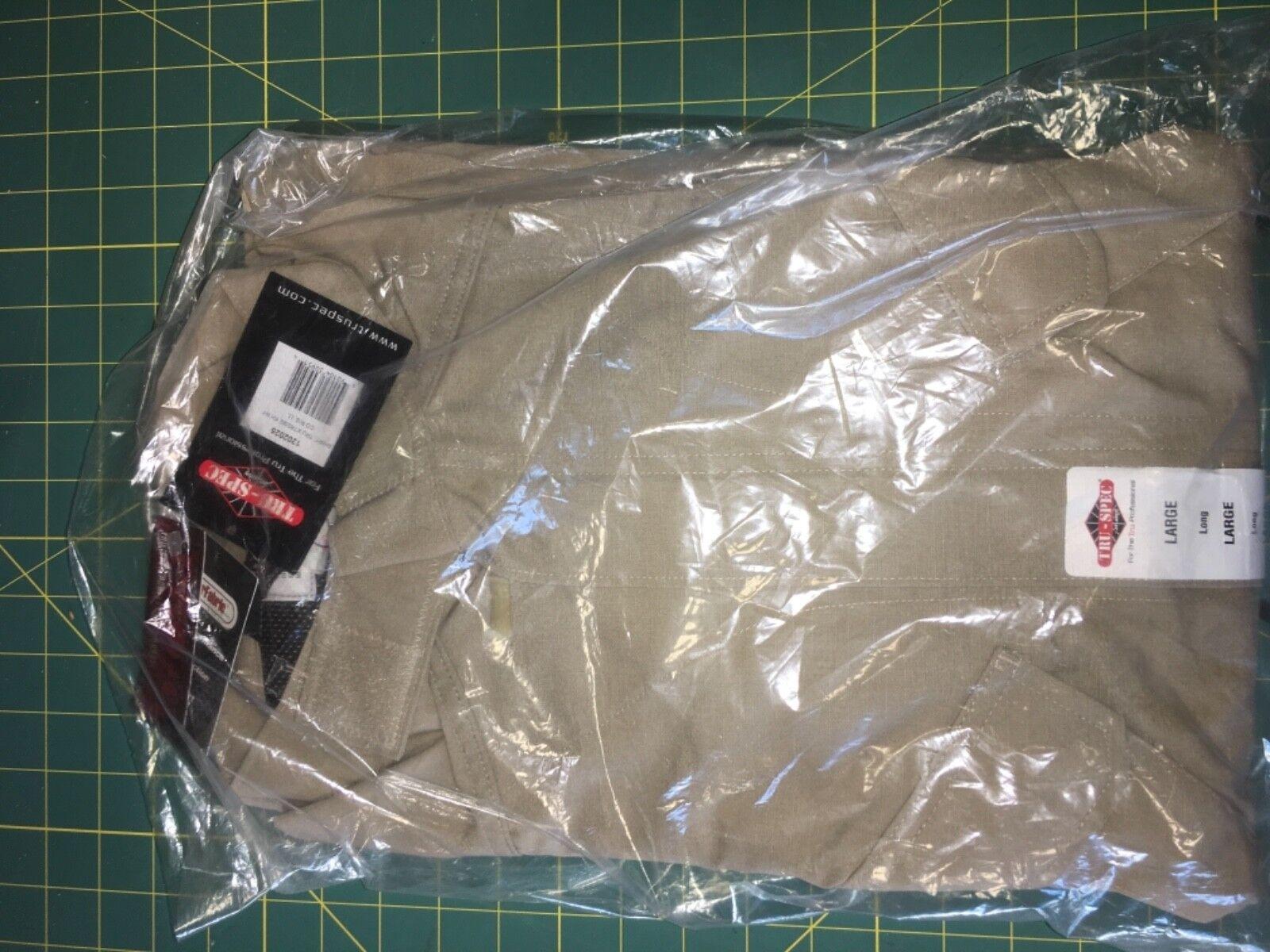 Khaki SHIRT, TRU XTREME NYCO R S, Large  Long  buy 100% authentic quality