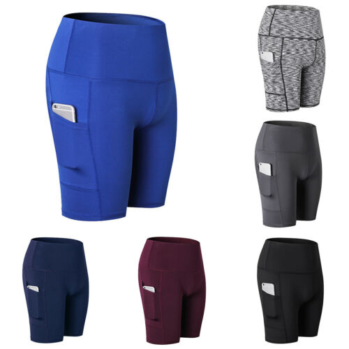 Mens Women Cycling Shorts Pants Bicycle Riding Sports GYM Fitness Bottoms Unisex