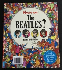 Where-Are-The-Beatles-Hard-Back-Book-In-The-Style-Of-Where-039-s-Wally