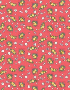 Wilmington-Chicken-Scratch-Kaye-England-Red-100-Cotton-Quilting-Cotton-Fabric