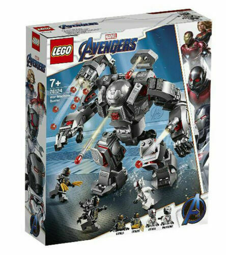 Lego 76124 Super Heroes Marvel máquina de guerra Buster