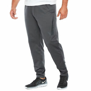 Details about NWT Men NIKE Therma TECH Swoosh Sweatpants ANTHRACITE GRAY BLACK