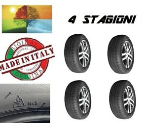 4 x Gomme 4 STAGIONI omologate ECOQUATTRO S M+S made in Italy 185//65//15 92H