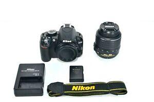Nikon-D-D3100-14-2MP-Digital-SLR-Camera-Black-Kit-w-AF-S-DX-VR-18-55mm-Lens