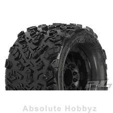 """Pro-Line 2.0 Big Joe 3.8"""" Tire w/F-11 17mm 1/2"""" Offset MT Wheel (Black) (1pr)"""