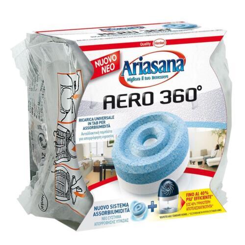 RICARICA ARIASANA AERO 360° ASSORBIUMIDITA/' DEUMIDIFICATORE TAB NEUTRO GR450