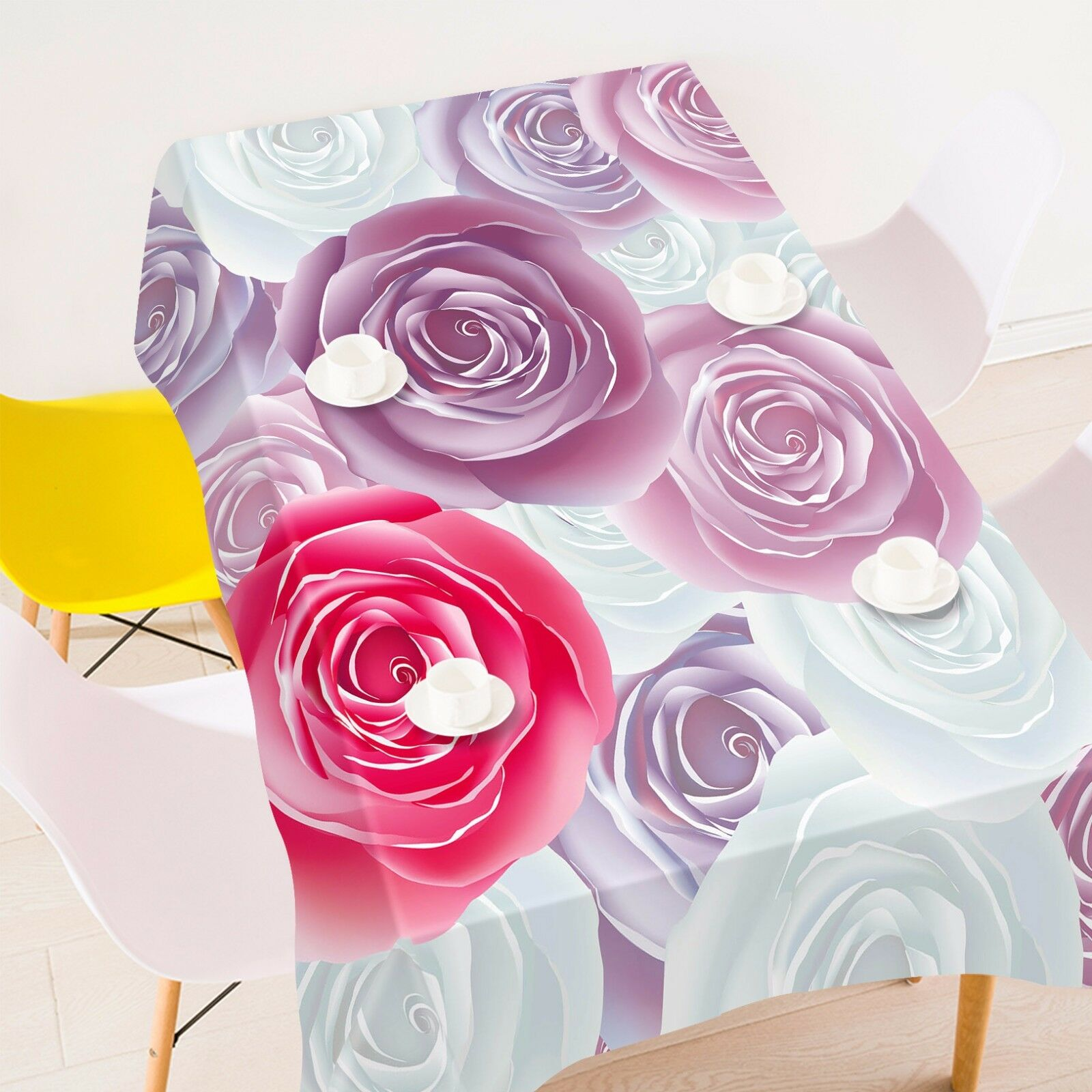 3D Flower 4227 Tablecloth Table Cover Cloth Birthday Party Event AJ WALLPAPER AU