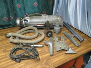 Vintage-Electrolux-Model-XXX-Canister-Vacuum-works-with-attachments