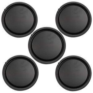 5Pcs-Rear-Lens-Cap-for-Sony-E-Mount-NEX-3-NEX-5-Black-New