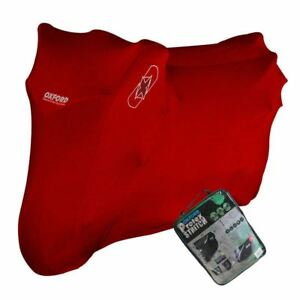 DUCATI-1299-PANIGALE-S-Oxford-Protex-Stretch-Breathable-Dust-Motorbike-Cover-Red