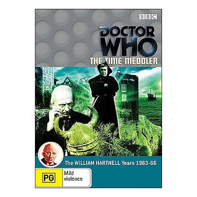 Doctor Who: The Time Meddler DVD Brand New Region 4 Aust. - William Hartnell