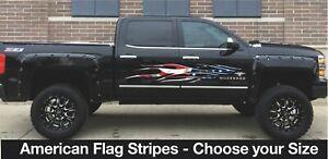 "Boat Truck Trailer Flag Flames CAR VINYL GRAPHICS boat Stickers Wrap 2-70/"""