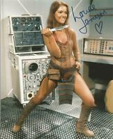 Hand Signed 8x10 photo LOUISE JAMESON in DOCTOR WHO + my COA
