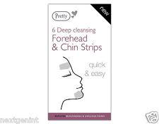 Pretty pulizia profonda sulla fronte & Chin Strisce-Blackhead rimozione, disintasare i pori