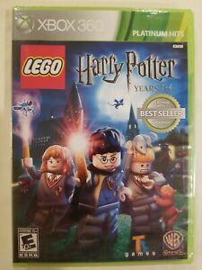 LEGO Harry Potter: Years 1-4 (Microsoft Xbox 360, 2010) Brand New Sealed