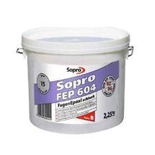 32,87€KG Sopro FugenEpoxi schlank FEP 604 Epoxidharz Fugenmörtel Mörtel 2,25KG