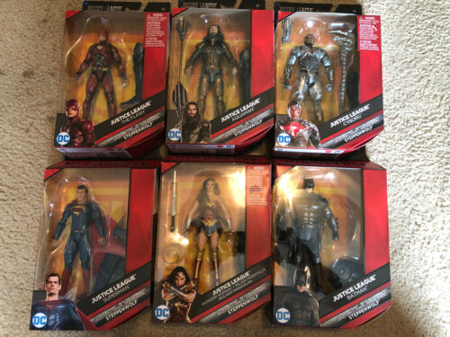 DC Comics Multiverse Justice League Complete Set of 6 Steppenwolf BAF NIB