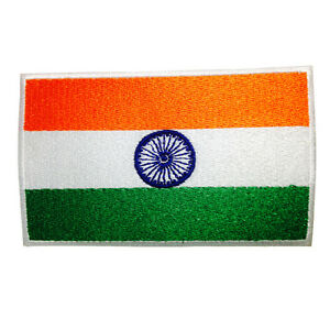 QuipCo INDIA Flag Patch - Embroidered