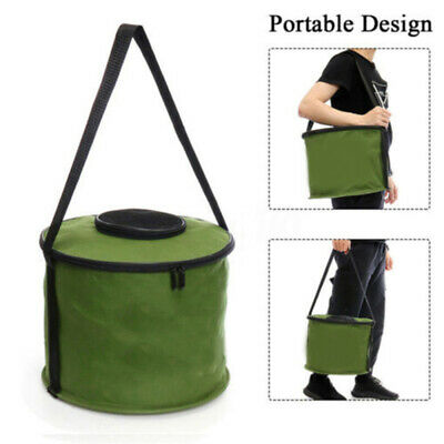 Multipurpose Camping Foldable Collapsible Water Bucket Outdoor Barrel C
