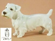 sealyham terrier Figur Hund hundefigur augarten wien Porzellan figur