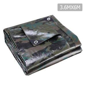 3-6x6m-Canvas-Tarp-Heavy-Duty-Camping-Poly-Tarps-Tarpaulin-Cover-Camouflage-Inst