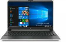 "HP Notebook 15-dy1071wm 15.6"" HD Laptop: i7-1065G7 8GB/ 256SSD/ W10H Silver"