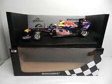 Pauls Model Art 1:18 Minichamps Red Bull Racing Renault RB7 S VETTEL F1 Car