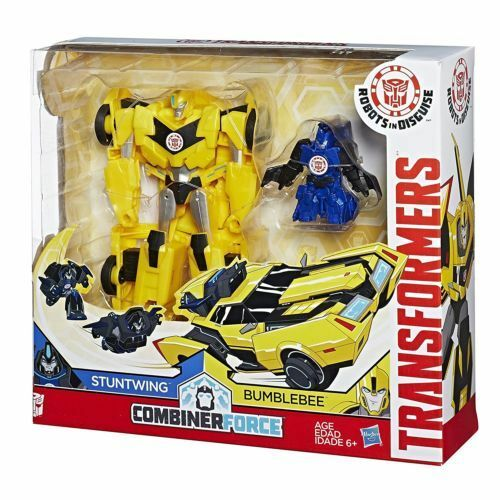 Transformers Robots in Disguise Combiner Force Activator Bumblebee & Stuntwing