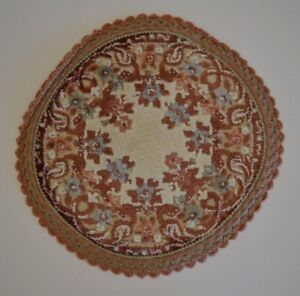 Image Is Loading Miniature Dollhouse 9 034 Round Area Rug Carpet
